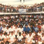 OLIVIA CRUISE GROUP OF PASSENGERS