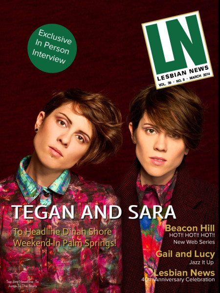 Lesbian News March 2014 Issue