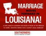 Marriage Moves Forward in Louisiana
