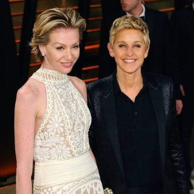 Lesbian Couples - Ellen DeGeneres and Portia de Rossi
