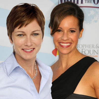Lesbian Couples - Jenna Wolfe and Stephanie Gosk