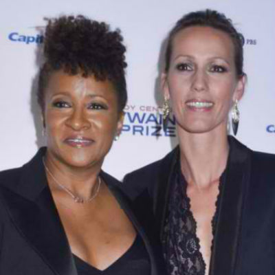 Lesbian Couples - Wanda Sykes and Alex Niedbalski