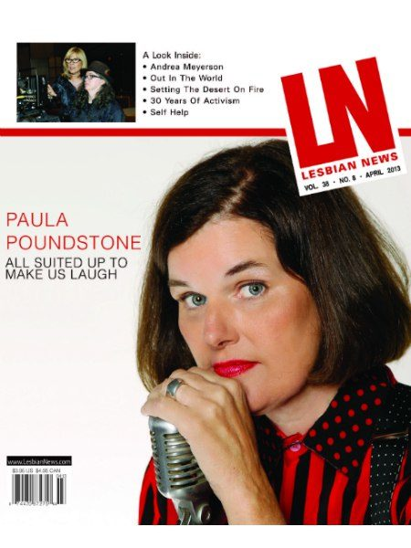 Lesbian News April 2013 Issue