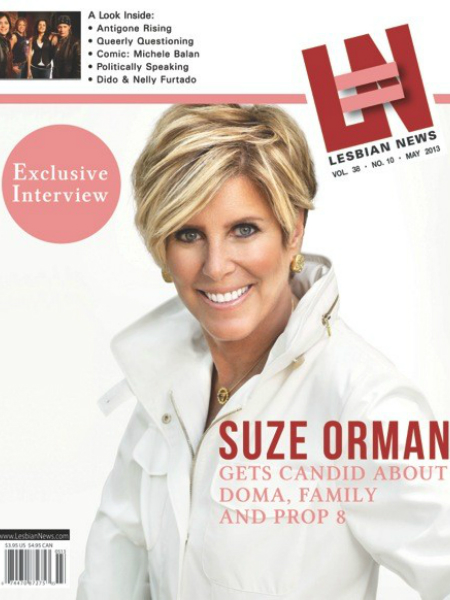 Lesbian News May 2013 Issue