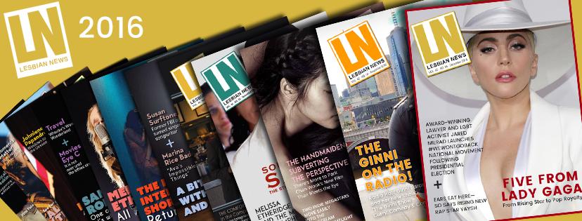 Lesbian News Magazine Issues