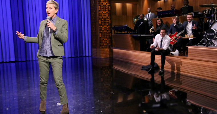 Ellen DeGeneres lip sync battle