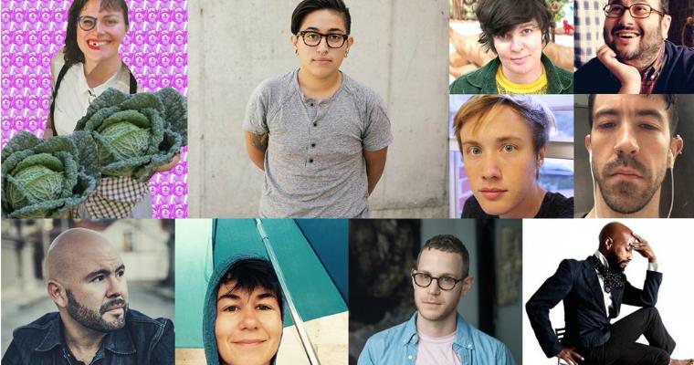 LGBT artists QAM
