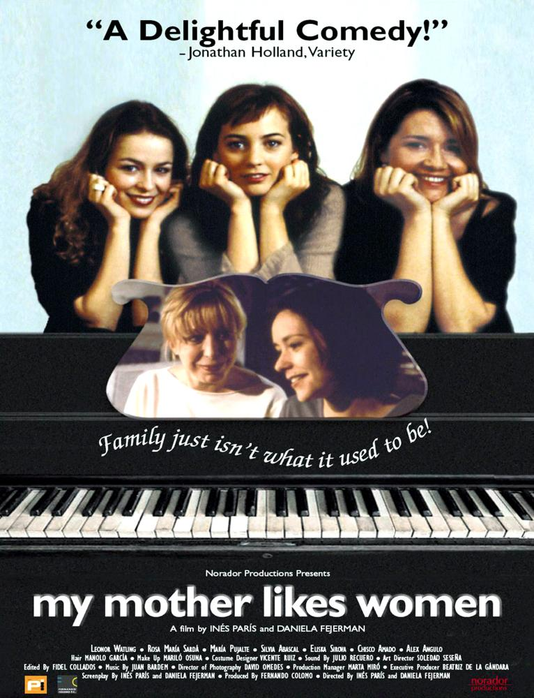 My Mother likes women poster