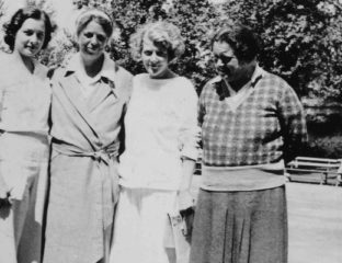 Lorena Hickok and Eleanor Roosevelt