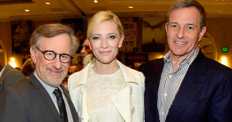 Spielberg Blanchett Iger at the 2015 AFI Awards
