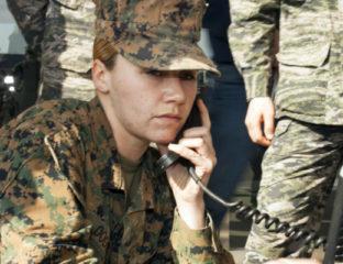 Women in US Marine Corps