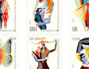 LGBT commemorative stamps