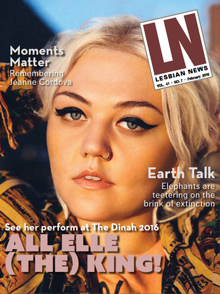 Lesbian News February 2016 Issue
