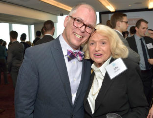 Edie Windsor and Jim Obergefell