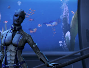 Liara of Mass Effect - LGBT videogame characters (1)