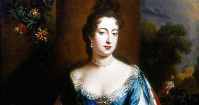 The lesbian Queen Anne Stuart of the House of Tudor