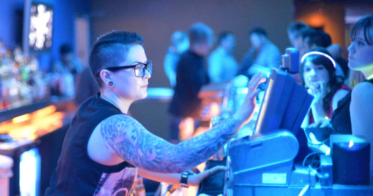 lesbian stereotypes in a bar