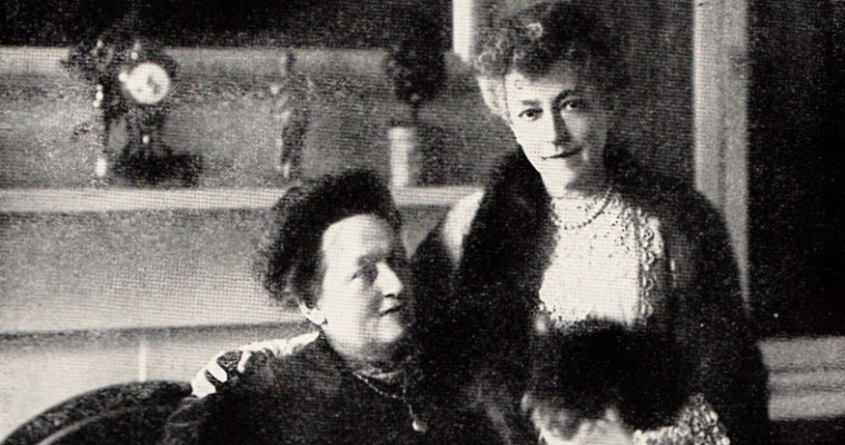 Elsie de Wolfe and Elisabeth Marbury