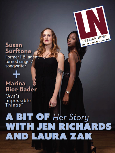 Lesbian News July 2016 Issue