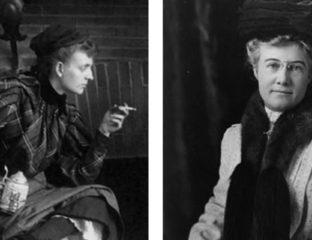Fannie Benjamin Johnston and Mattie Edwards Hewitt