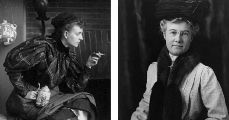 Fannie Benjamin Johnston and Mattie Edwards Hewitt