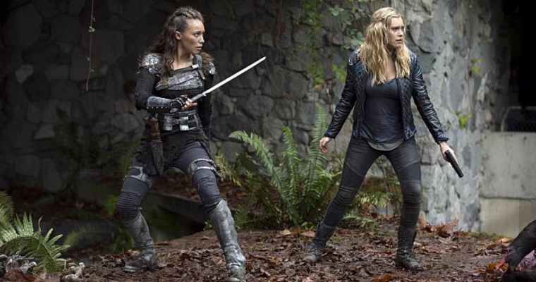 Lexa and Clarke - Halloween costumes
