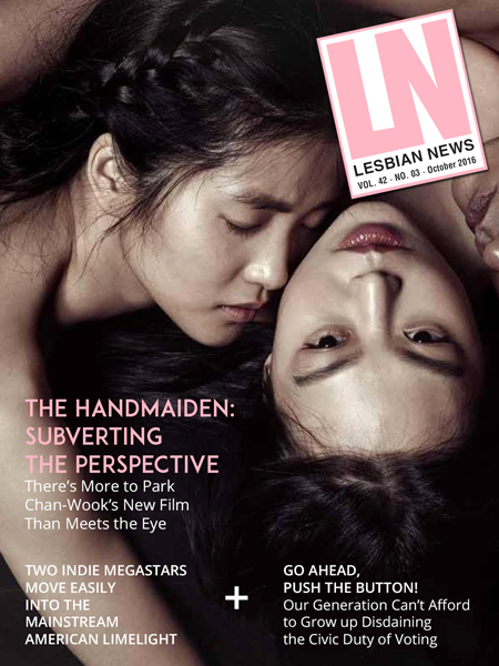 Lesbian News October 2016 Issue