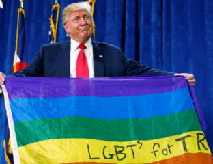 Donald Trump - LGBT Republican supporters