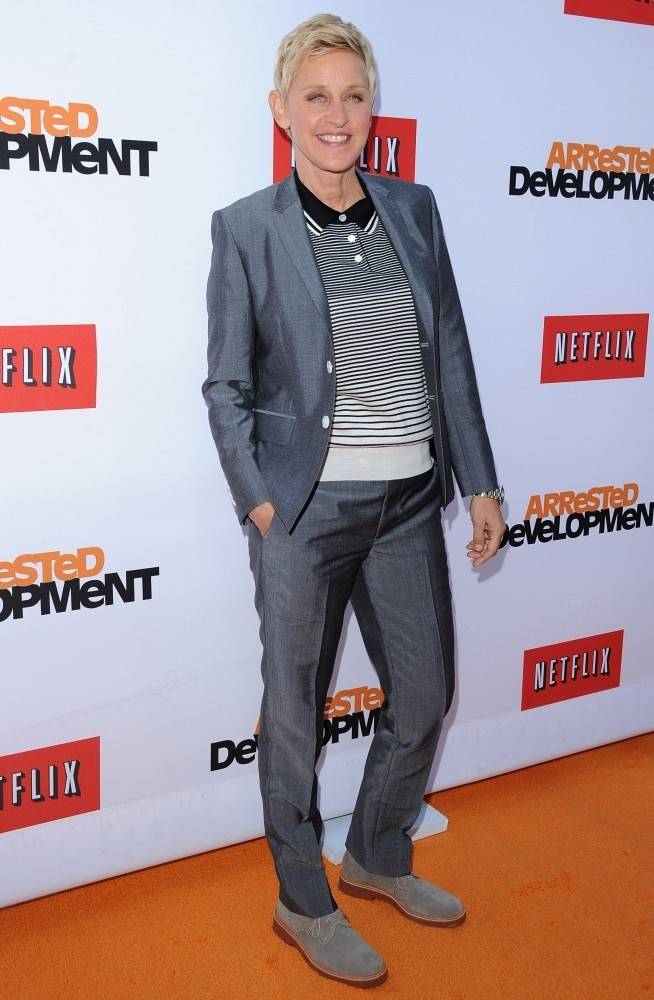 Ellen DeGeneres fashion