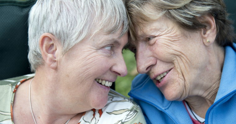 Older couple lesbian relationship advice