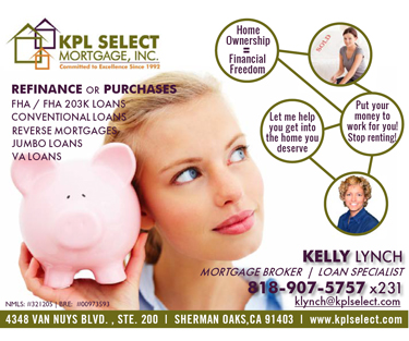 KPL Select Mortgage Advertisement