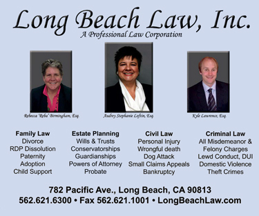 Long Beach Law Advertisement