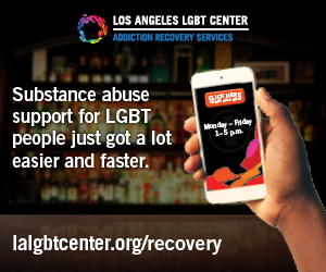 Los Angeles LGBT Center Advertisement