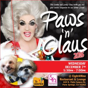 The Center Paws and Claus Advertisement