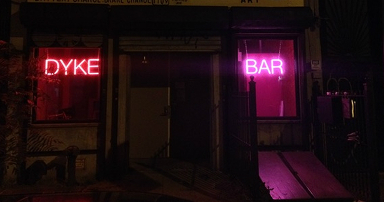 Lesbian bars - lesbian spaces