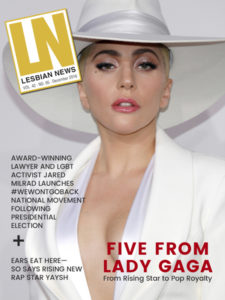 Lesbian News December 2016 Issue