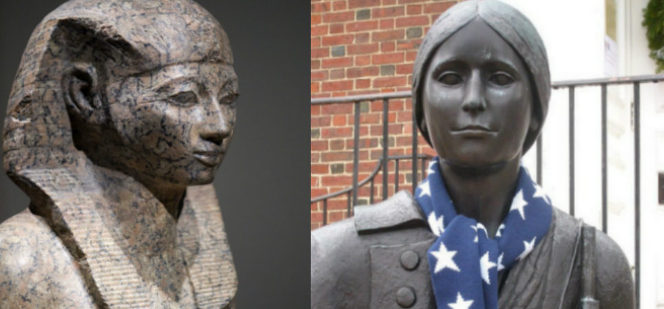 Hatshepsut and Deborah Sampson