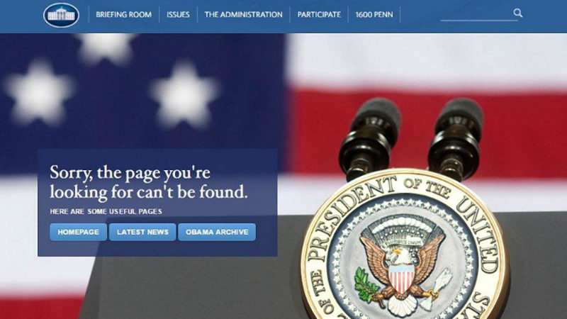 LGBT White House website