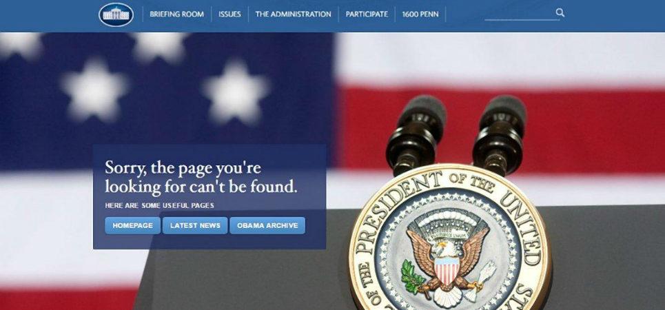 LGBT White House website