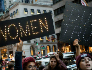 LGBTQ groups at Women's March