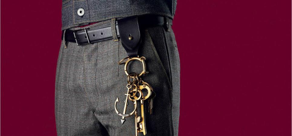 Lesbian key rings