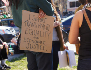 Transgender health rights