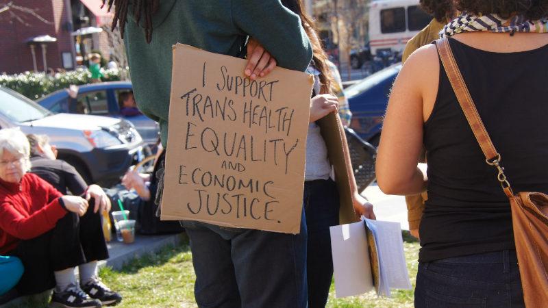 Transgender health rights