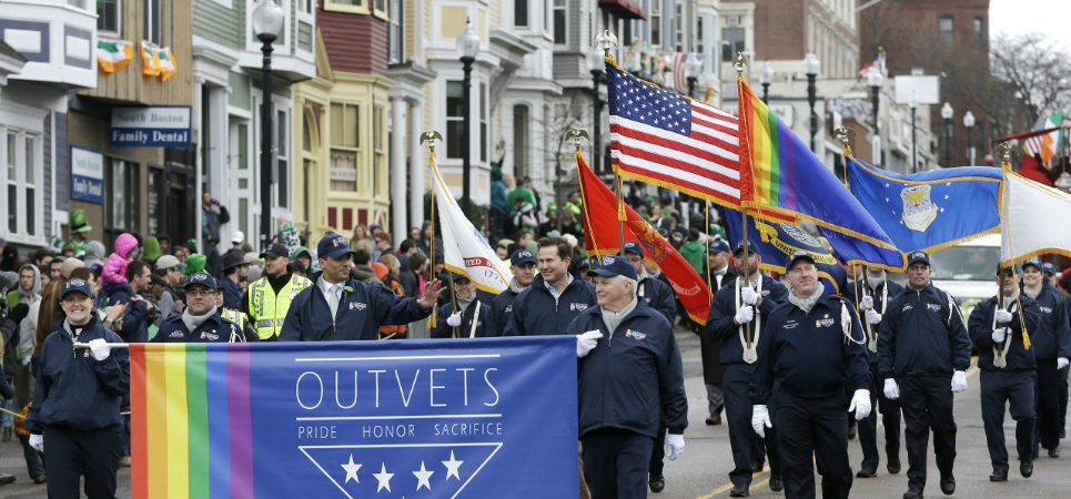 LGBT veterans- St. Patrick's Day Parade