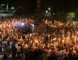 White nationalist rally