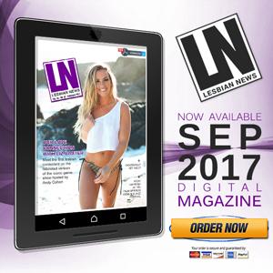 Lesbian News Magazine Ad Banner