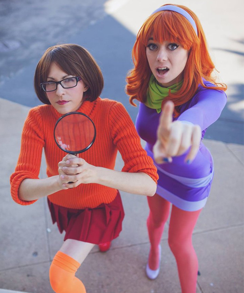 Halloween Costume - Daphne and Velma