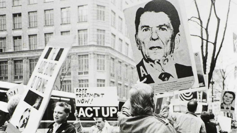 Ronald Reagan and the AIDS crisis