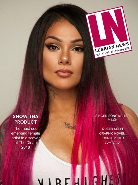 Lesbian News February 2018 Issue