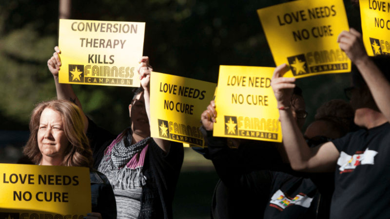 Ban conversion therapy
